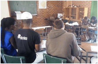 Studying for H & G exams - Mukuvisi course