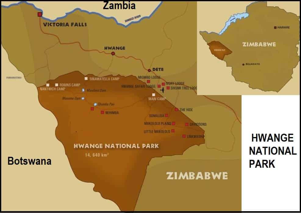 Hwange National Park in context