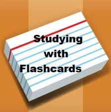 Studying With Flashcards