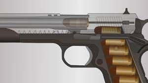How A Firearm Works – Animation By Skallagrim
