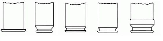 Cartridge case types - blank