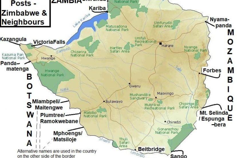 Zimbabwe's Border Posts