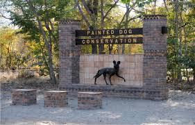 Painted Dog Conservation Center, Hwange, entrance