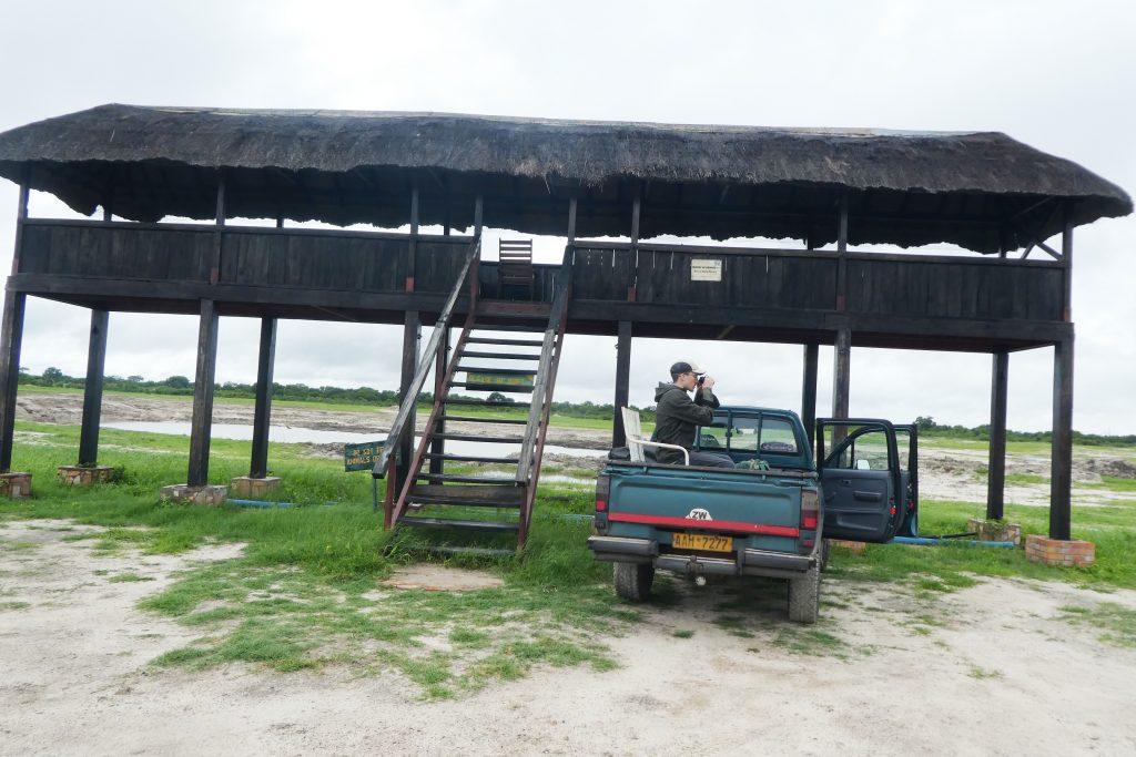 Hwange, Nyamandlhovu Pan platform
