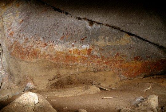 Matobo rock painting