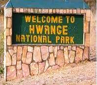 Welcome To Hwange Sign