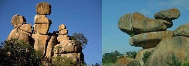 Castle Kopjes, Mother-&-Child, Matopos & Balancing Rocks, Epworth