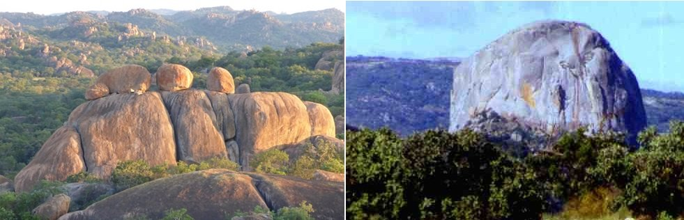 Matopos & Nyanga, granite features