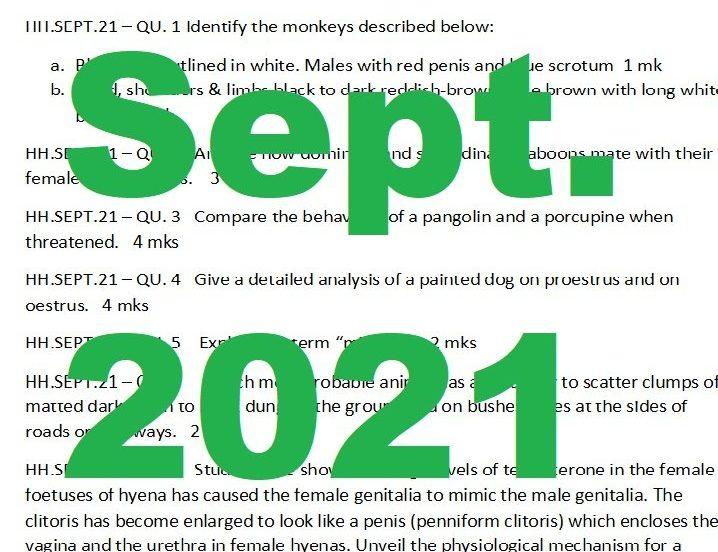September, 2021